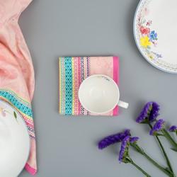 Tea Towel Rosie Pink