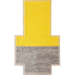 GAN rugs vloerkleed Mangas Plait Yellow - 190 x 250 cm