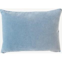 Urban Nature Culture cushion Vintage velvet blue shadow