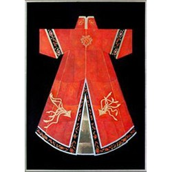 Fine Asianliving Oosters Schilderij Chinese Kleding Rood