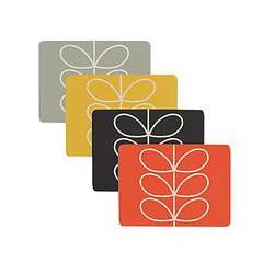 Orla Kiely Linear Stem Placemat, Set of 4