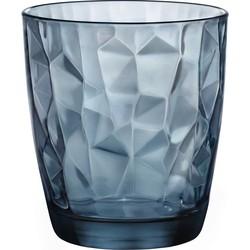 Bormioli Rocco Diamond Tumbler - 30 cl - Blauw - 6 stuks