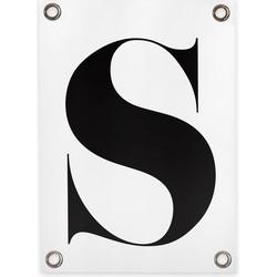 Tuinposter letter S (70x100cm)