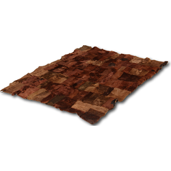 Patchwork plaid Darkbrown