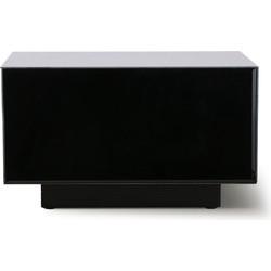 mirror block table black L