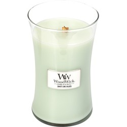 Woodwick Large Candle Sweet Lime Gelato