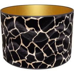 Lampenkap Dierenprint giraf cilinder 40.40.40