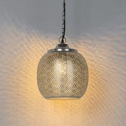 Vintage Pendant Lamp 4 Steel - Sinbad