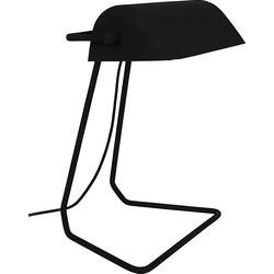 Zuiver Broker Bureaulamp 42 cm - Zwart