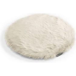 MiaCara Lana Kussen ivory 45 cm
