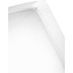 Dusk till Dawn - Hoeslaken - Satijn - 160x200 - wit