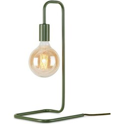 Its About RoMi tafellamp ijer olijf groen gebogen frame