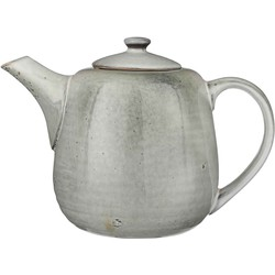 Mica Decorations tabo theepot grijs maat in cm: 17,5 x 25