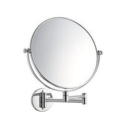 John Lewis Extending Magnifying Bathroom Mirror, 25cm