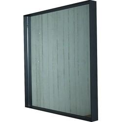 Spinder Design Donna 2 Vierkante Spiegel - Zwart