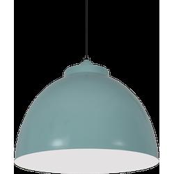 Hanglamp Capri 44 cm vintage green + witte binnenzijde