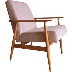 Mid-Century fauteuil Hanna Lis - Deens Design - roze/blush