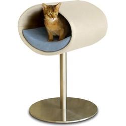 Pet-Interiors Rondo Leer Kattenstandaard Kunstleder crème