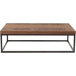 POP UP HOME Prairie Coffee table - / Walnut. Black,Walnut