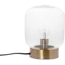 Tafellamp Stripes helder 24cm