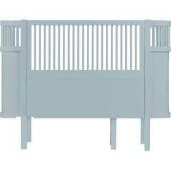 Sebra - Das Sebra Bett, Baby & Junior, wolkenblau