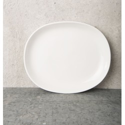 Plate Urban Clay (Ø25) - White