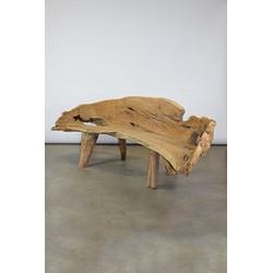 Originele 'one of a kind' teakhout sofa