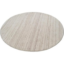 Teppich, rund, Theko , »Royal Berber Uni«, reine Schurwolle, handgetuftet