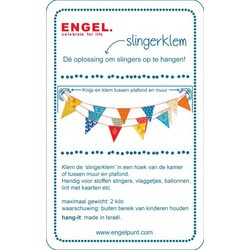 Engel. Hang-it slingerklemmen