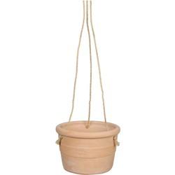 Hangpot oliviera maat in cm: 17 x 26 terra