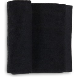 Gastendoek Premium 30x50 cm night black - Set van 6