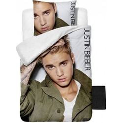 Justin Bieber Live! Dekbedovertrek 140x200cm + 1x Kussensloop 60x70cm