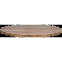 Tafelblad rond - ø130 cm - vintage - teak