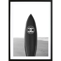 Black Chanel Board Poster (21x29,7cm)