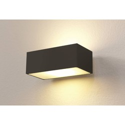 Wandlamp LED Eindhoven 100 Zwart IP54