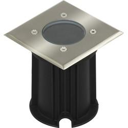 Ranex LED Grondspot Tuinverlichting 3W Waterdicht IP65, Vierkant, Warm Wit