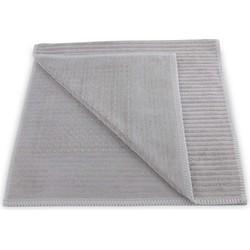 Badmat Bamboo 60x100 cm glacier grey - 60% Bamboe-viscose 40% Katoen