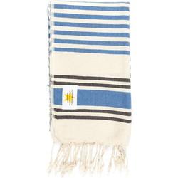 Mycha Ibiza - hamamdoek – streep – donkerblauw – 100% handgeweven katoen