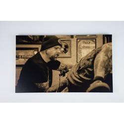 Deco schilderij HG op hout #6 (15cmx25cm)