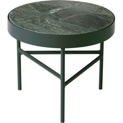 ferm Living - Marble Table klein, grün