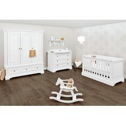 Pinolino Babyzimmer Set Kinderzimmer Emilia breit groß (3-tlg)