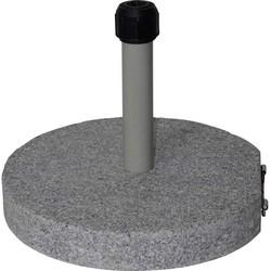Outdoor Living Parasolvoet Graniet grijs 40kg