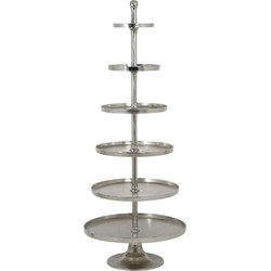 Light&Living Etagere Hokksund Nikkel 6 Laags 200 x Ø80