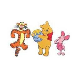 Graham & Brown Winnie the Pooh Foam Elements 3pcs