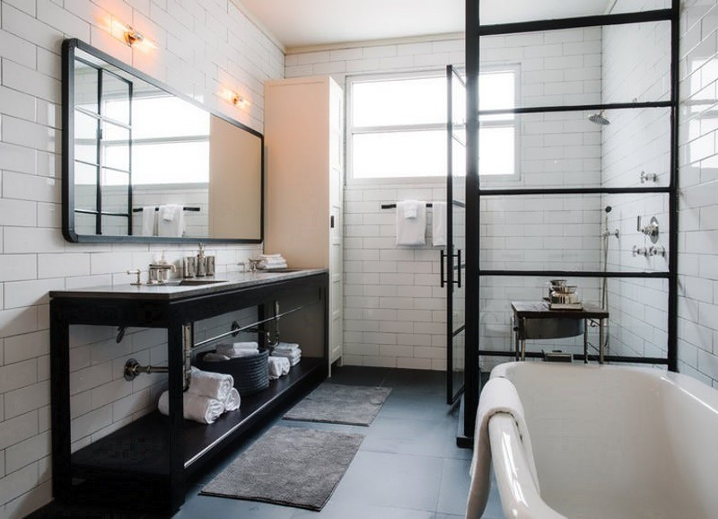 die sch nsten offenen duschen alles was du brauchst um dein haus in ein zuhause zu. Black Bedroom Furniture Sets. Home Design Ideas