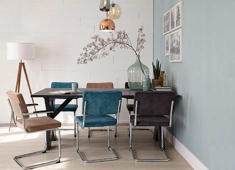10x de mooiste interieurs met blauwe muren - Alles om van je huis je ...