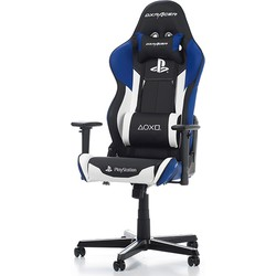 DXRacer Racing-series Playstation 4 Bureaustoel - Zwart/Blauw/Wit PU