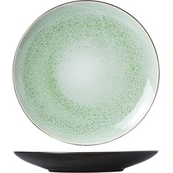 Cosy&Trendy Finesse Green Plat Bord - Ø 28 cm - Set-4