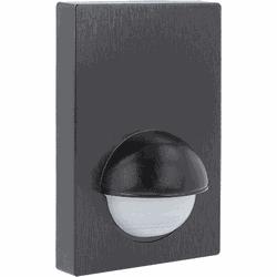 LED Bewegingsmelder, muur opbouw, MOB 6, zwart, IP44