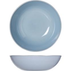 Cosy&Trendy Sublim Diep Bord - Ø18x5 cm - Blue - 4 stuks